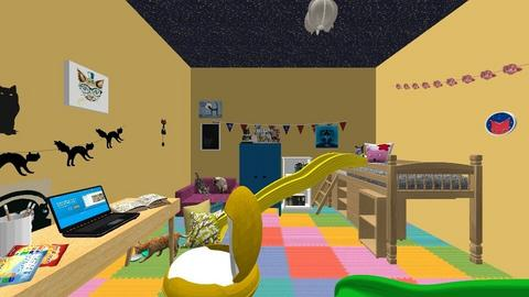 Alices bedroom - Bedroom  - by Person1365