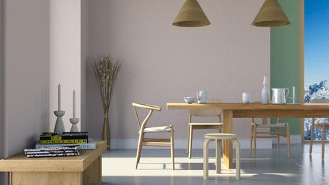 soft - Dining room  - by Ebru Tekneci
