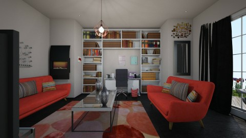 Comfy Living - Living room - by Mary Young