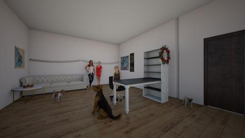 Art room when it is xmas - Office  - by Migle Lapinskyte