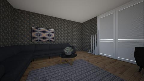 black home  - Modern - Living room  - by hicran yeniay