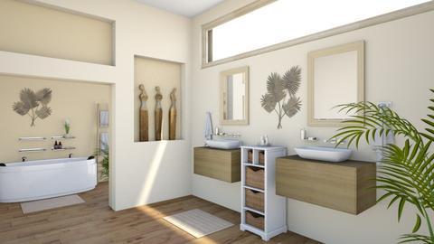 Island Vibe Bath - Bathroom  - by Tzed Design