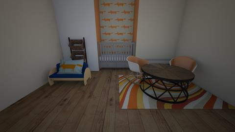 boy nersary - Kids room  - by katemarsh