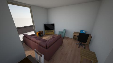 Andy Living Room - Rustic - Living room - by mikgi2311
