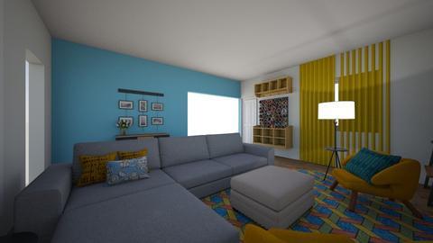 Main room 2 - Living room  - by AshleeJaye