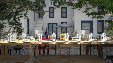 Community Dinner 2 - Garden  - by SammyJPili