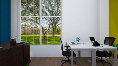Derricks view - Office  - by Jeycie Designs