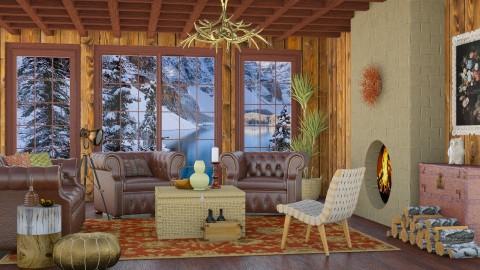 Banff living - Country - Living room - by Liu Kovac