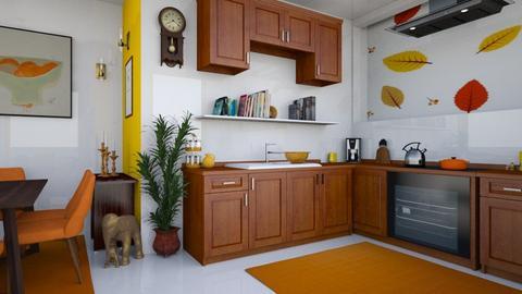 cuisine d automne  - Modern - Kitchen  - by zayneb_17
