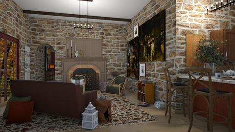 jansteen - Living room  - by rosej