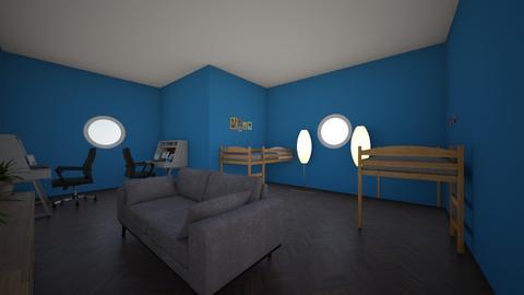 College Dorm - by lilia_barfield