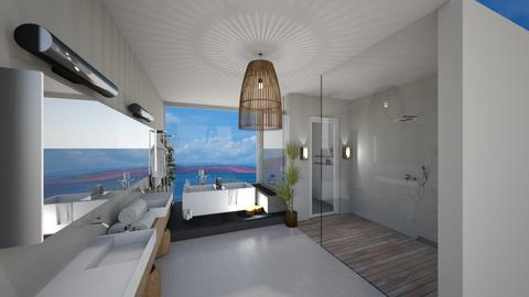 island bathroom - Bathroom  - by Rwaann78