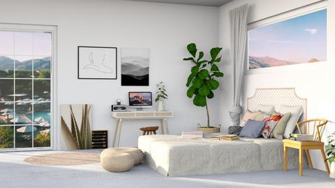 Breezy summer - Bedroom - by TamarK
