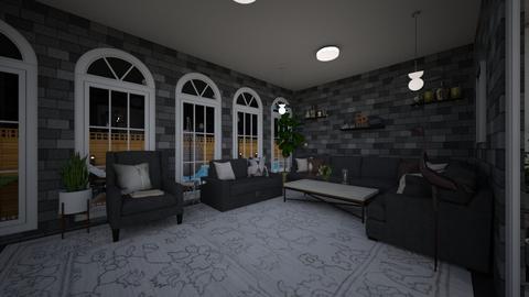 HOUSE 1 grey - Modern - Living room  - by ritapireva
