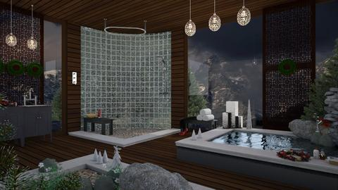 Christmas Bathroom - Modern - Bathroom  - by mmehling