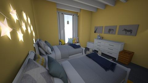 KidBedroom1 - Kids room - by jael design 1
