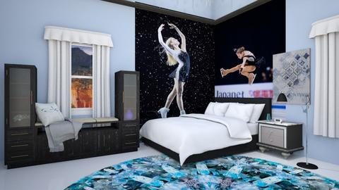 sport skating room - Bedroom  - by fullmoon13