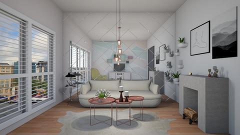 Living room Rita - Minimal - Living room  - by Annathea