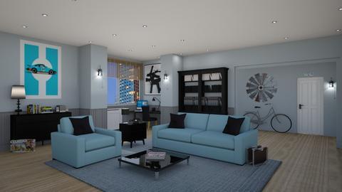 Jerry Seinfeld - Retro - Living room - by Elenny