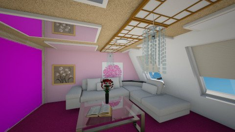 mirror pink - Modern - Living room - by Boka i Deki