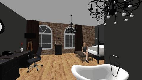 HABITACION BLACK HOTEL - Bedroom  - by NefMarlon81