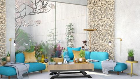 Living - Modern - Living room  - by Isaacarchitect