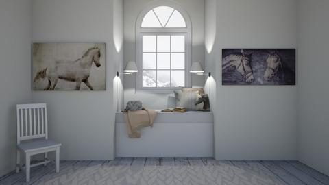Horse Mad Bed Nook - Bedroom  - by ZolaKate