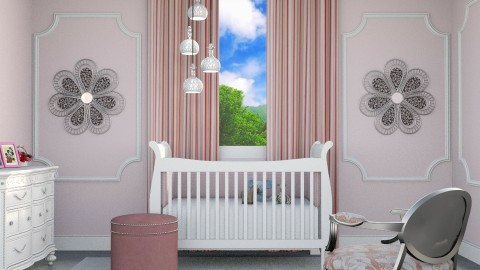 Pink Girly Nursery - by Vampire_Kitty