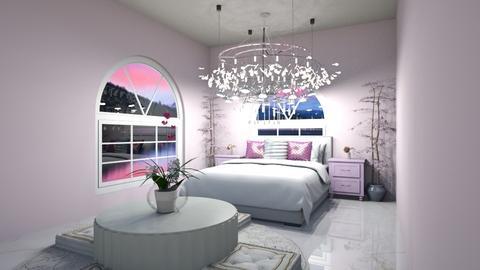 modern pink grey white - by Claw4M3
