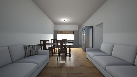 Sala de estar  - Living room  - by belkisvazque1977