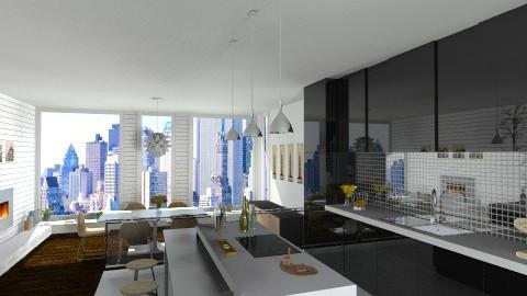 Black Look - Modern - Kitchen  - by giulygi