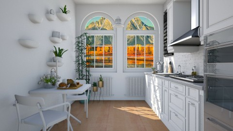 kika Kiit - Rustic - Kitchen  - by Rose Hdz