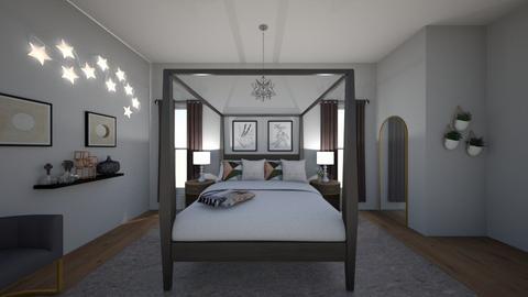 Teen Dream Room - Modern - Bedroom  - by Atianah_Garcia21