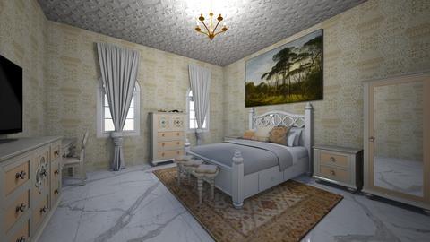 oldish newish vintage mod - Vintage - Bedroom  - by jade1111