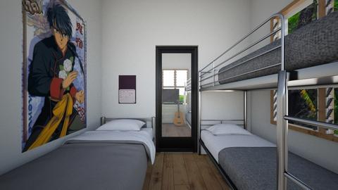 Three Siblings 2 - Bedroom  - by SammyJPili