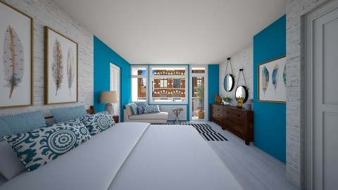 168 Bedroom redesign - Modern - Bedroom  - by Agata_ody