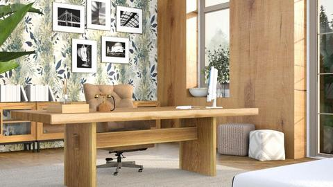 Contest__Rustic Office - Office  - by eliseatlife