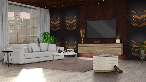 Brown Mliving - Living room  - by milyca8
