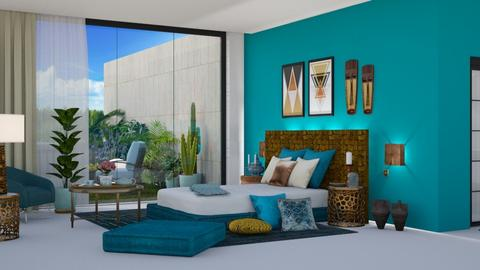 Gold Morning - Modern - Bedroom  - by Claudia Correia