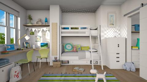 Bunk Bedroom - Kids room  - by LB1981