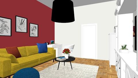 Claret living room - Classic - Living room  - by FloraFlow