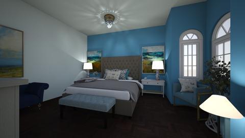 Blue - Bedroom  - by Cat_J