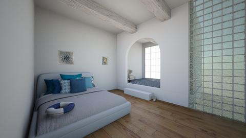 Dormitorio griego - Bedroom  - by Natibenitez