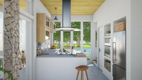 Marlboro Kitchen - Eclectic - Kitchen - by russ