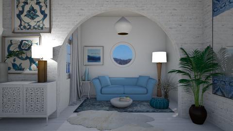 Greek Living - Living room  - by Ancy