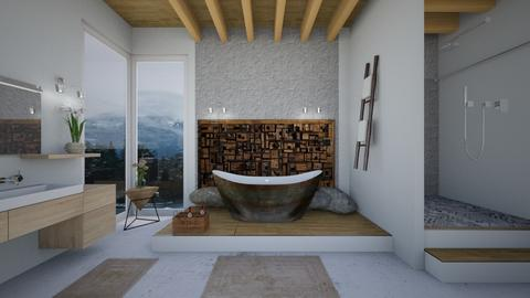 Concret bath - Bathroom - by Mesehabbal