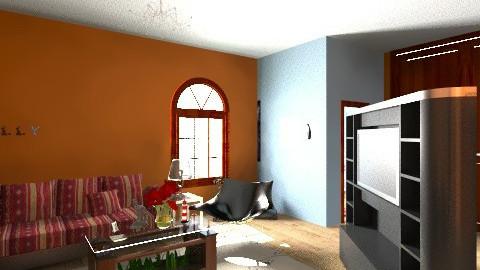 Mollys Design - Vintage - Living room  - by Molly Wilkins