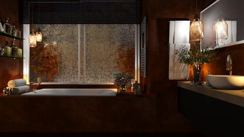 Autumn - Glamour - Bathroom  - by Claudia Correia