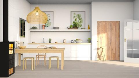 kitchen - by Lo89