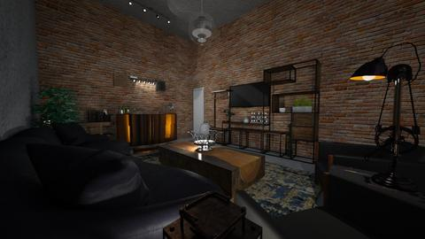 living - Rustic - Living room  - by lkmuv